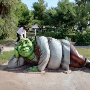 Скульптура: Шрек
