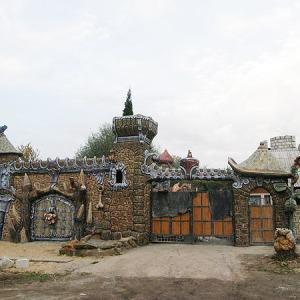 Бетонный забор Ворота замка