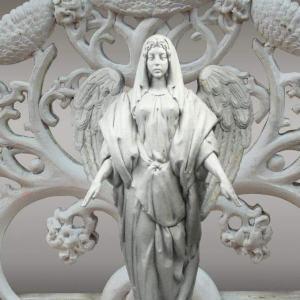 Скульптура из искусственного камня: Ангел-Хранитель