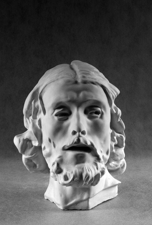 Гипсовая скульптура: Иоанн Креститель