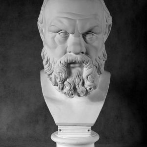 Бюст на заказ: «Сократ» (стилизованный)