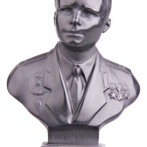 Бюст на заказ из шунгита «Ю.А. Гагарин»