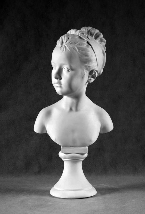 Бюст на заказ: «Портрет Луизы Брогниарт»