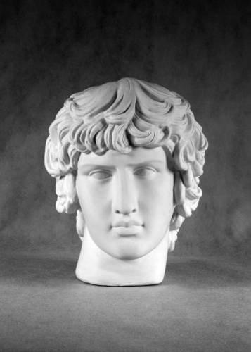 Гипсовая скульптура: Антиной