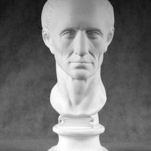 Гипсовая скульптура: Гай Юлий Цезарь