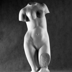 Гипсовая скульптура: Торс Афродиты