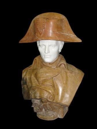 Бюст на заказ из мрамора: «Наполеон»