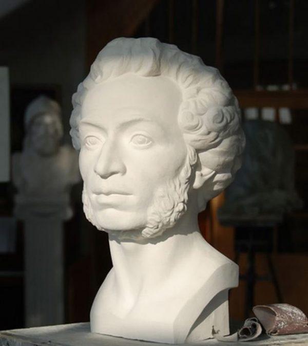Бюст на заказ: «Пушкин А.С.»