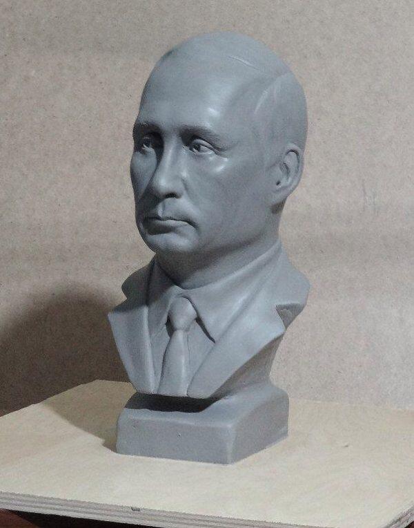 Бюст на заказ: «В.В. Путин»