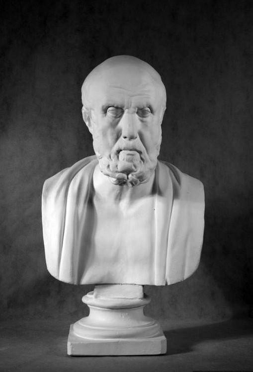 Бюст на заказ: «Гиппократ»