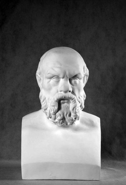Бюст на заказ: «Сократ»