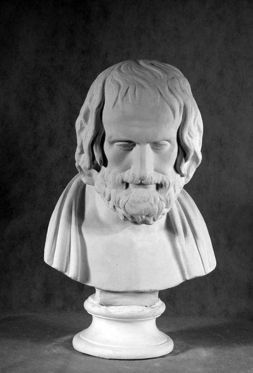 Бюст на заказ: «Архимед»