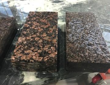 брусчатка пиленая термо обработанная из гранита под заказ