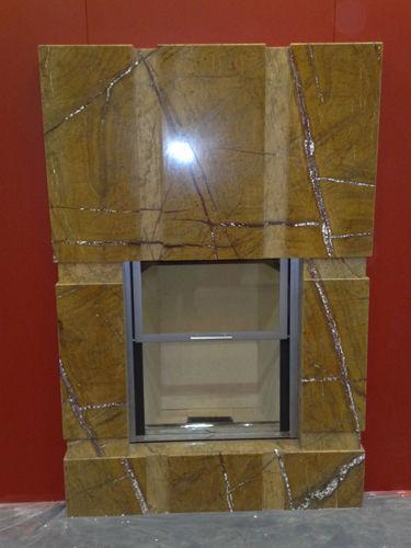 Каминная облицовка под очаг с подъёмником