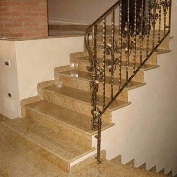 Лестница из натурального камня 3