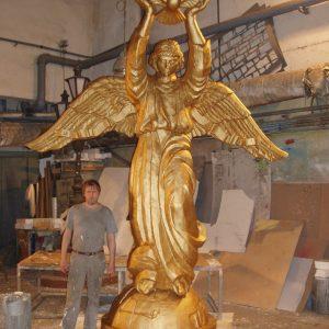 Фигура из пенопласта: «Добрый ангел»
