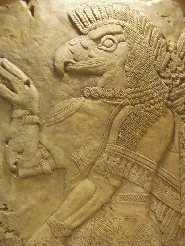 Фигура из пенопласта: Ассирийский бог Нисроч