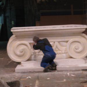 Фигура из пенопласта: «Основание колонны»
