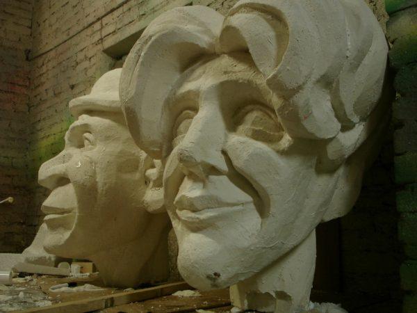 Фигура из пенопласта: Голова сказочных героев