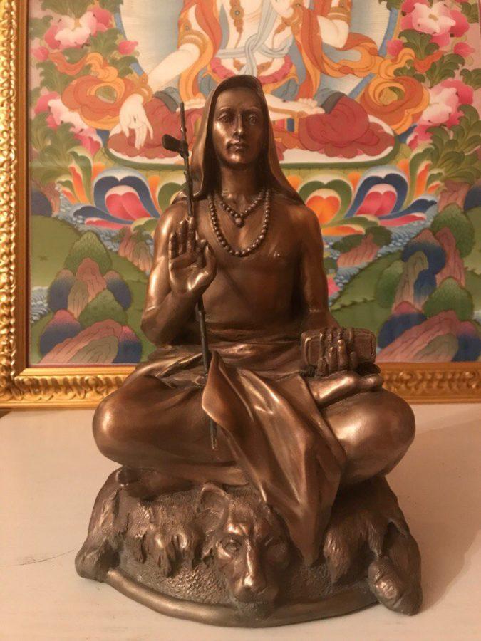 Бронзовая скульптура: «Монах»