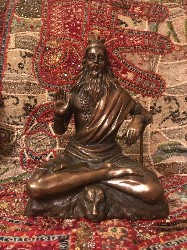 Бронзовая скульптура: «Божество»