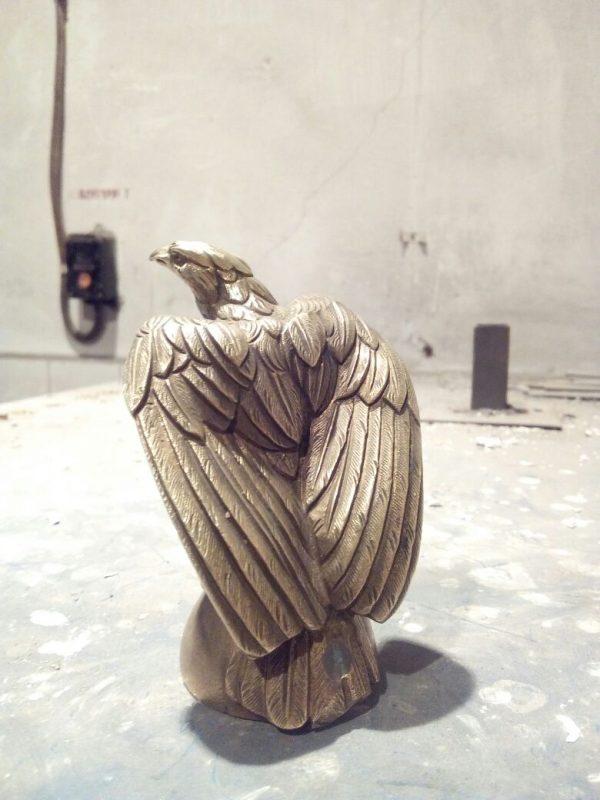 Бронзовая скульптура: «Орёл»