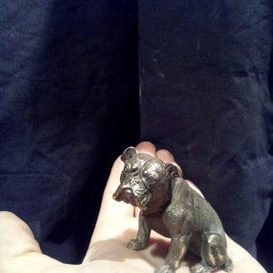 Бронзовая скульптура: «Собака»