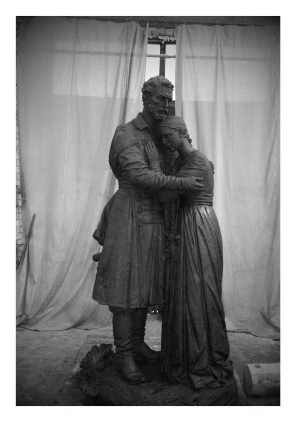 Бронзовая скульптура: «Возвращение»