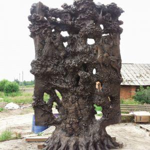 Бронзовая скульптура: Китаби Деде Горгуд