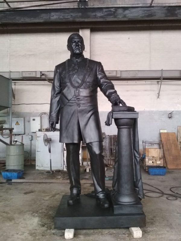 Бронзовая скульптура: «Клятва»