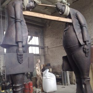 Бронзовая скульптура: «Недопонимание»