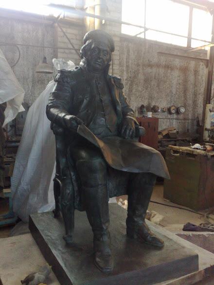 Бронзовая скульптура: «Генерал»