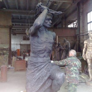 Бронзовая скульптура: «Человек»
