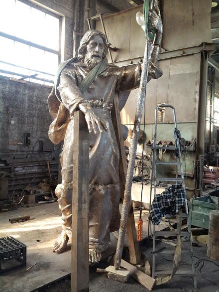 Бронзовая скульптура: «Страсти Христовы»