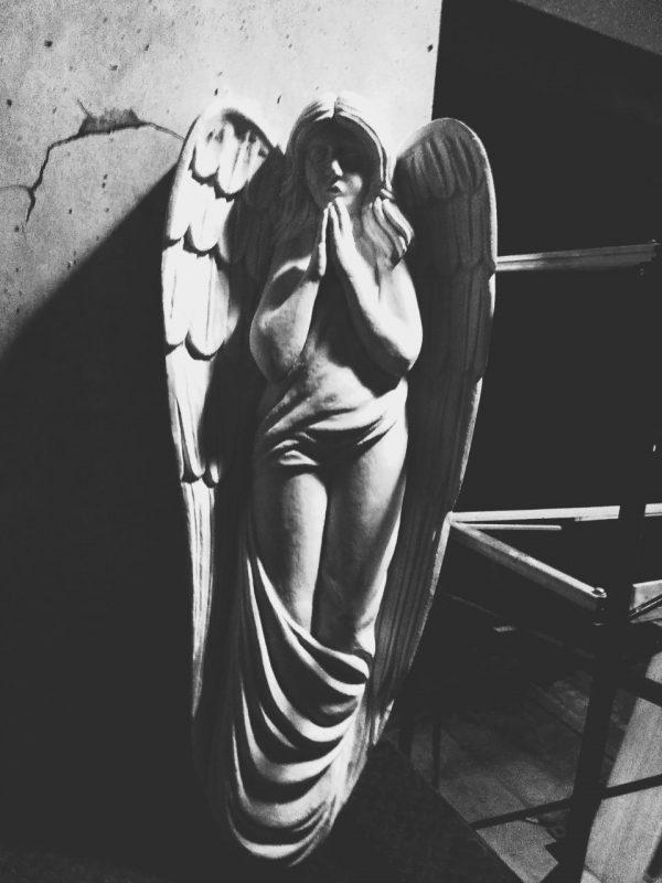 Фигура из пенопласта «Ангел»