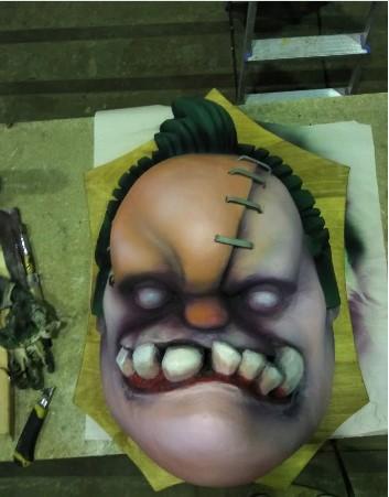 Фигура из пенопласта серии «Монстры из игры Дота 2»