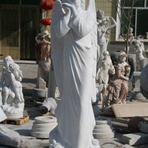 Скульптура из мрамора: Смиренный ангел