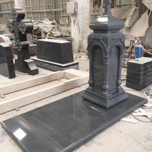 Надгробный памятник: Альков с крестом