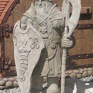 Скульптура из бетона: Рыцарь