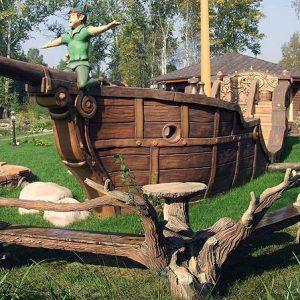 Бетонный корабль с Питером Пеном