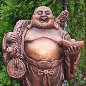 Скульптура из бетона: Монах Хотей