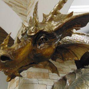 Скульптура из дерева: Дракон