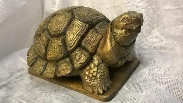 Скульптура из дерева: Черепаха