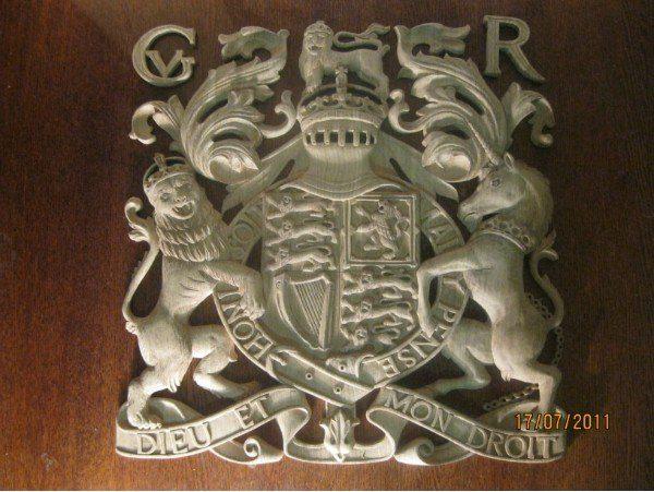 Скульптура из дерева: Семейный герб