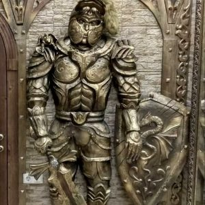 Скульптура из дерева: Рыцарь