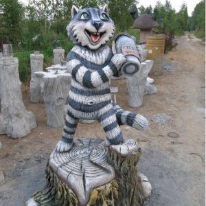 Скульптура из бетона: Кот Матроскин
