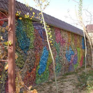 Барельеф из бетона Абстракция