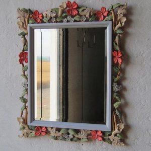 Деревянный аксессуар: Рама для прямоугольного зеркала