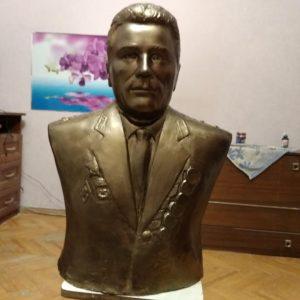 Бюст на заказ: Генерал-майор Г.М. Мерзляков