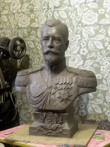 Бюст на заказ: Николай II